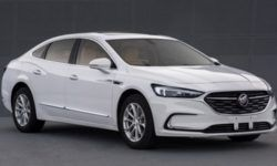 The flagship five-meter sedan Buick restyled transferred to a 1.3 turbo engine