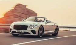 The new Bentley Continental GT has lost its roof