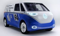 Volkswagen will show the ID BUZZ CARGO in the new livery at Los Angeles