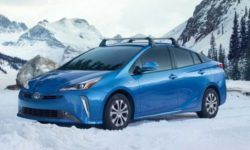 Toyota introduced the new Prius with all-wheel drive