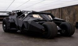 Old SAAB 9-5 was turned into a Batmobile