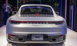 Sports car Porsche 911 became more powerful and faster