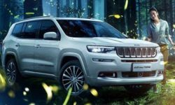 """Cross on the basis of the Jeep Grand Commander and """"off-road"""" wagon"""