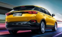 In the network appeared the photo with the testing of a new SUV Chinese group FAW
