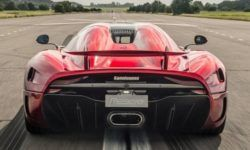 Koenigsegg set a new record speed of over 447 km/h