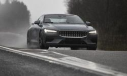 Polestar showed how testing prototypes of the hybrid coupe 1