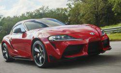In Detroit debuted a commercial version of the coupe, Toyota Supra fifth generation