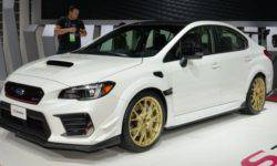 Subaru introduced a new modification of the sports sedan WRX STI