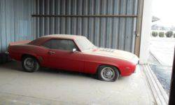"""On eBay put """"Camaro"""" in 1969 which stood in a hangar for 20 years"""