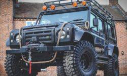 On eBay put a tuned version of the SUV Land Rover Defender