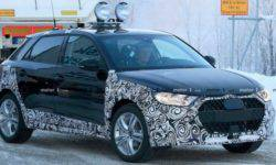 In a Network there were photos of the all-terrain version of the subcompact hatchback Audi A1 in camouflage