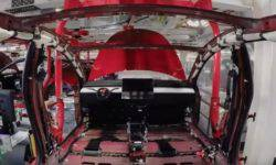 The Assembly process of the Tesla Model 3 showed in the video