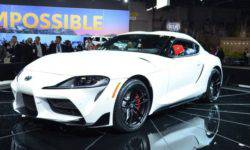 Presented at the motor show in Detroit the Toyota Supra 5-th generation