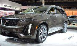 At the Detroit motor show Cadillac XT6