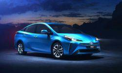 Toyota Prius for Europe, the all-wheel drive