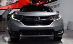 Presented updated crossover Honda CR-V 2019