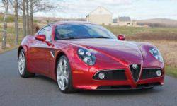 Coupe Alfa Romeo 8C Competiziones will be sold at auction