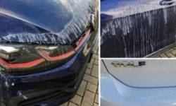 The German car owners are experiencing a glue attack