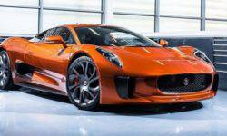 Put up for sale a supercar James bond, Jaguar C-X75.