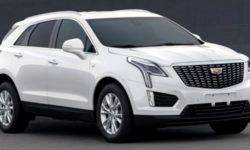 Disclosed appearance of the updated Cadillac XT5