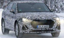 Audi has started to test a new kupeobrazny crossover