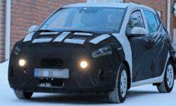 Subcompact Hyundai i10 will change a generation this year