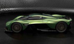Aston Martin has prepared for Valkyrie expanded personalisation programme