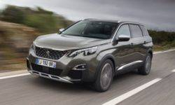 "PEUGEOТ 5008 seven-seat SUV in the final of the national competition ""Car of the year"""