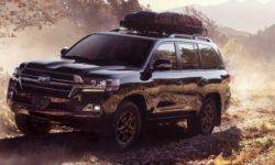In Chicago, Toyota will show a special version of Land Cruiser