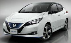 In 2018, Nissan has sold more than 40 thousands of Leaf electric cars in Europe