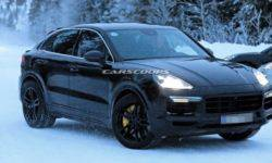 Photos of the new Porsche Cayenne Turbo 2020 without camouflage