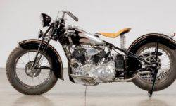Motorcycle 1939 Crocker Big Tank went under the hammer for 704 000 $