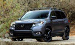 Named the official price of the new SUV Honda Passport in USA