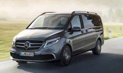 Mercedes-Benz introduced a new minivan V-Class