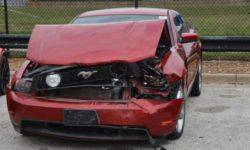 Teenagers are unable to steal from the used car dealer sports cars and just smashed them