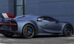 Bugatti Chiron Sport got the anniversary version of the tricolor