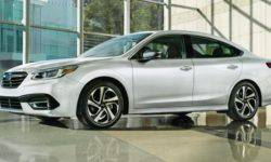 Introduced the Subaru Legacy sedan new generation