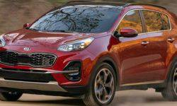 Popular crossover KIA Sportage has gone through another update