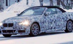Convertible BMW 4-Series passes the road test