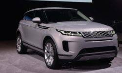 In Chicago debuted the hybrid version of the Range Rover Evoque 2020