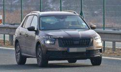 In a Network there were new photos of Skoda Kamiq