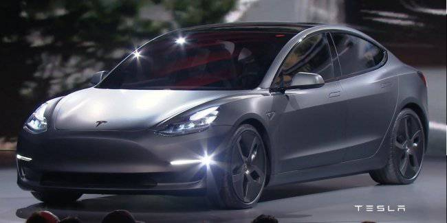 """Autopilot"" on the European Tesla Model 3 was reduced"