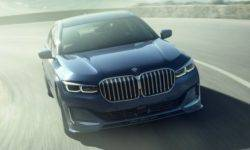 "Alpina has updated the ""charged"" sedan on the basis of ""seven"" BMW"
