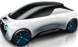 Honda will present a small electric pickup Tomo at Geneva