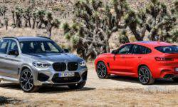 "BMW has declassified ""charged"" M-version of crossover X3 and X4"
