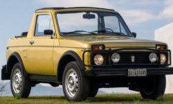 Unique LADA Niva convertible has sold for 5 thousand dollars