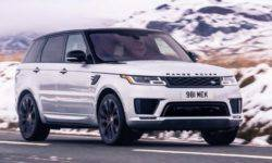 Land Rover has introduced a new modification of the crossover Range Rover Sport