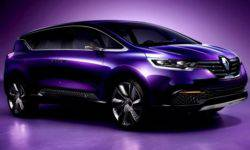 The video showed a new model of cross-van Renault RBC