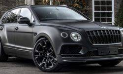 The tuning package for the Bentley Bentayga in the style of Darth Vader