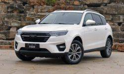 Sales of the new crossover Zotye T600 gaining momentum